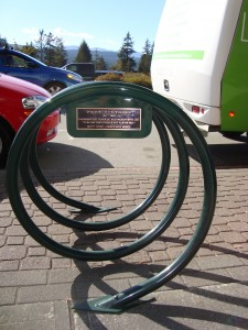 Memorial Bike Rack