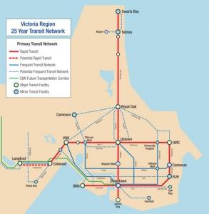 Potential 2035 transit map