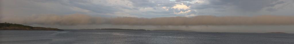 Willows Beach cloud