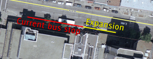 Potential expansion of Fort @ Douglas stop